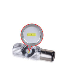 Motorcycle Moped ATV Headlight Bulb Hi/Lo 6000K