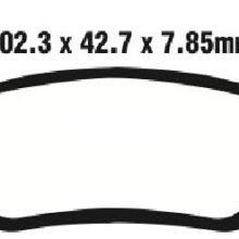 Brake Pads  for KYMCO ATV MXU550 MXU 550 i 2012 / MXU550 MXU 550 i 4×4 LOF 2013 – 2015 / MXU700 MXU 700 i 4×4 LOF 2013 2014 2015